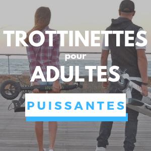 Trottinette électrique pour Adulte PUISSANTE
