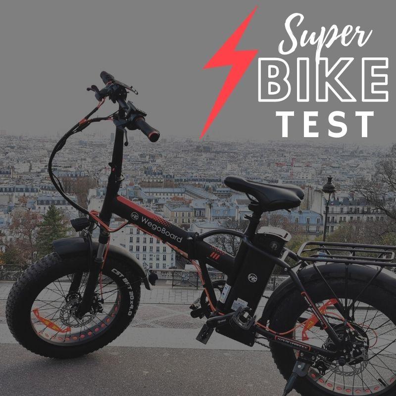 test du vélo électrique (VAE) Superbike