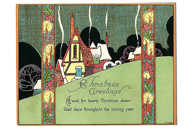 Showcase Collection 1930 Christmas Cards