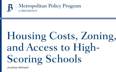 Housing Near High-Performing Public Schools Costs 2.4 Times More than Housing Near Low-Performing Public Schools