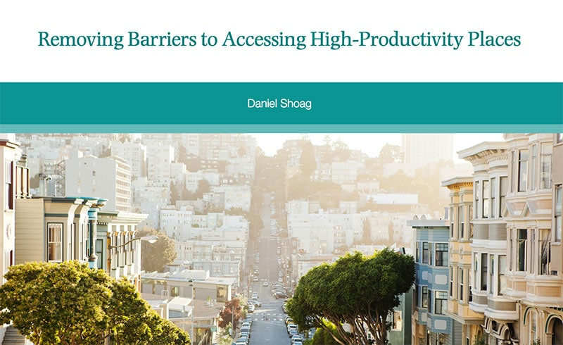 Removing Barriers to Accessing High-Productivity Places
