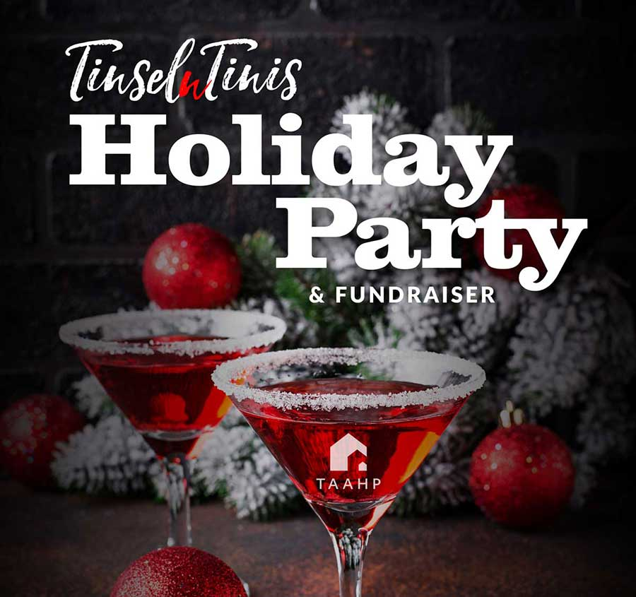 Tinsel n Tinis Holiday Party