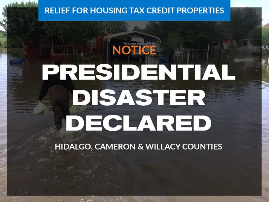 Presidential Disaster Declared