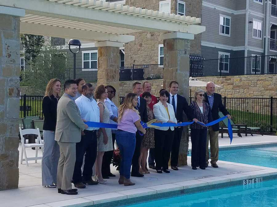 NRP Group The Bridge at Harris Ridge Grand Opening