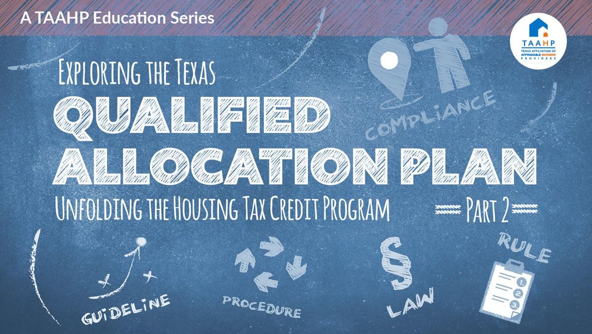 Exploring the Texas QAP Part II