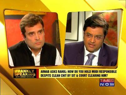 Arnab-Rahul Gandhi Interview