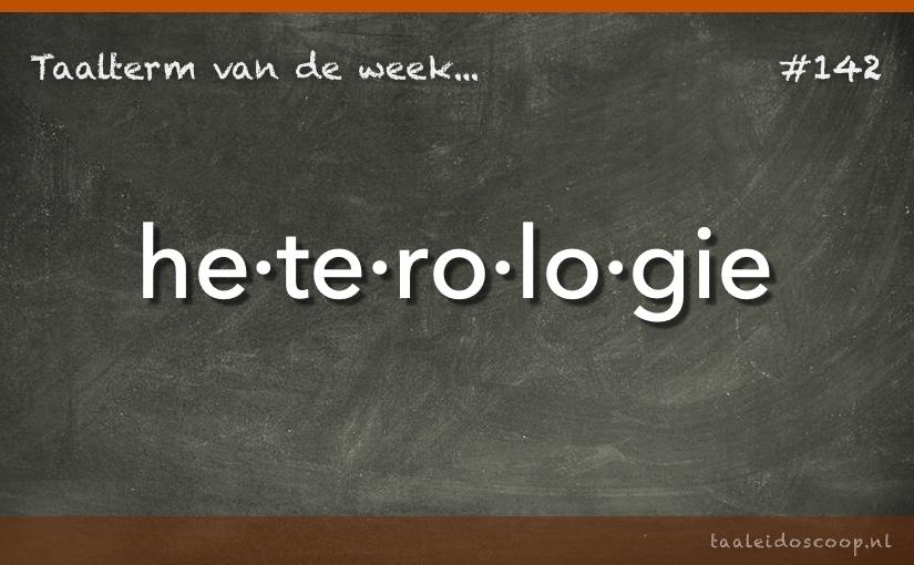 TVDW: Heterologie