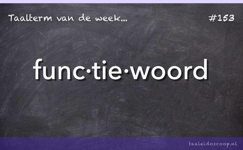 TVDW: Functiewoord