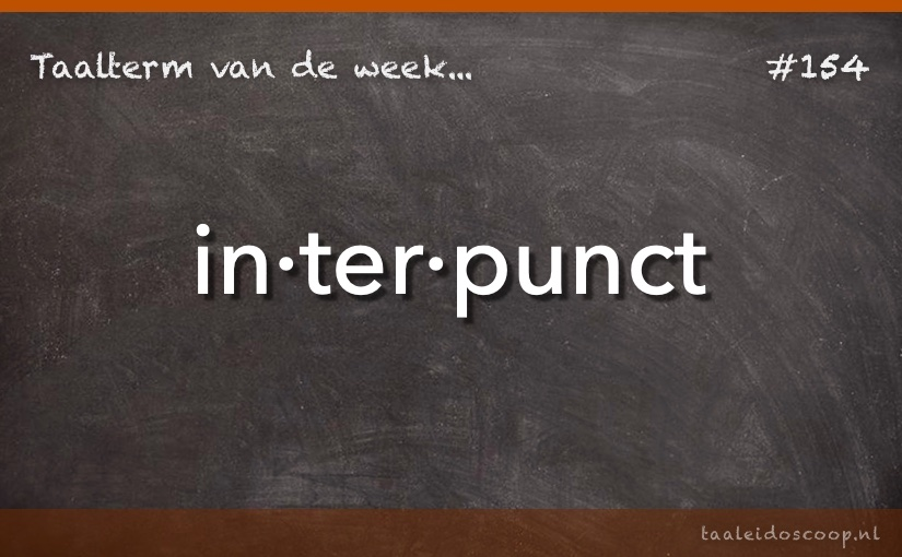 TVDW: Interpunct