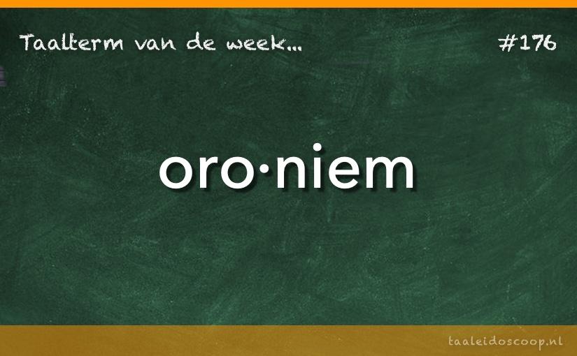 TVDW: Oroniem