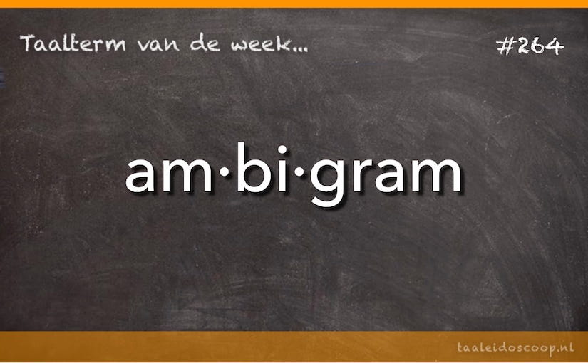 Taalterm: Ambigram