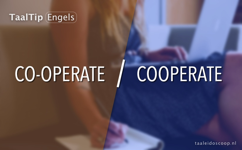 Co-operate vs. cooperate