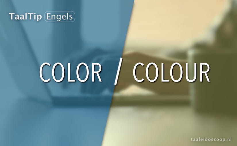 Color vs. colour