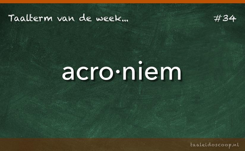 TVDW: Acroniem