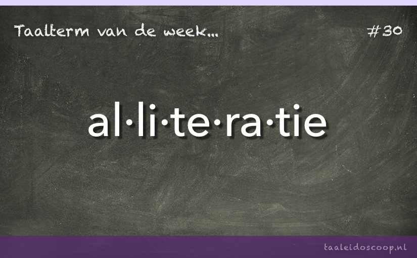 TVDW: Alliteratie