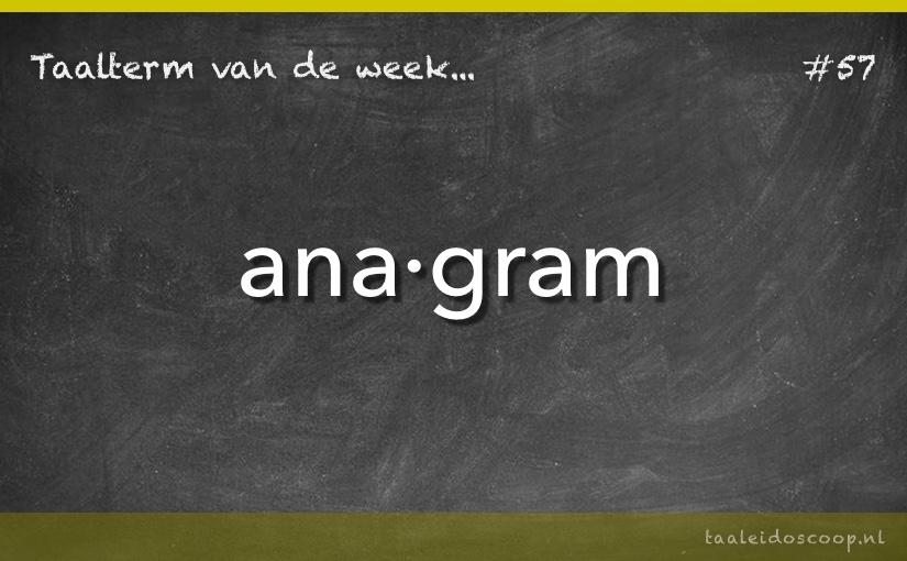 TVDW: Anagram