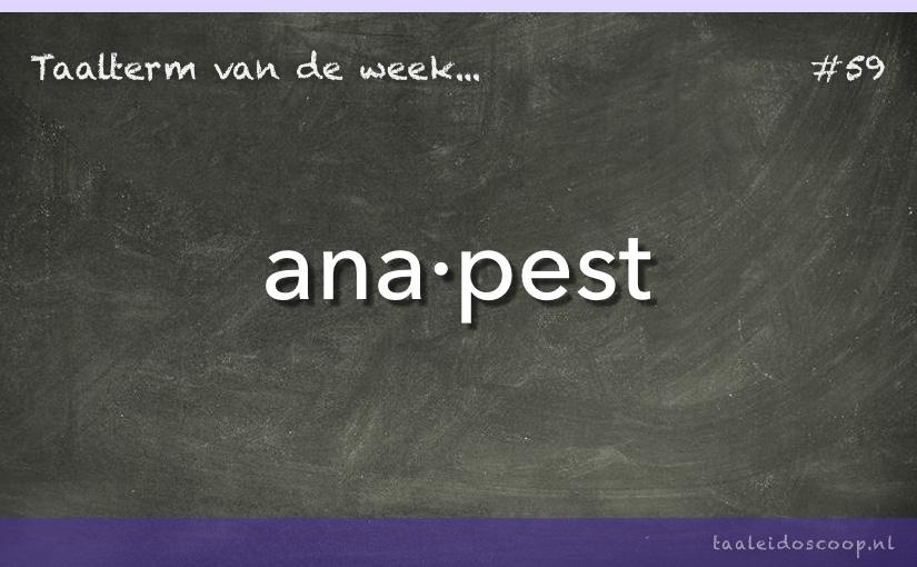 TVDW: Anapest