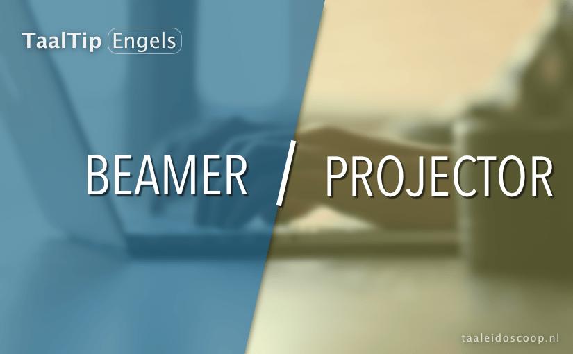 Beamer vs. projector