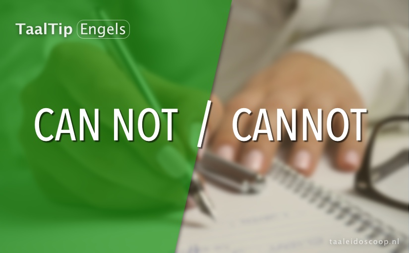 Can not vs. cannot
