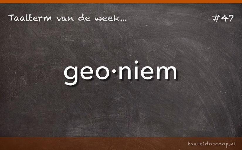 TVDW: Geoniem