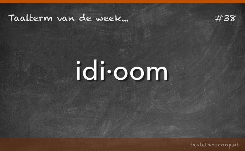 TVDW: Idioom
