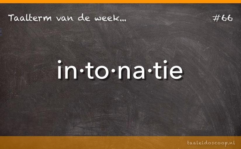 TVDW: Intonatie