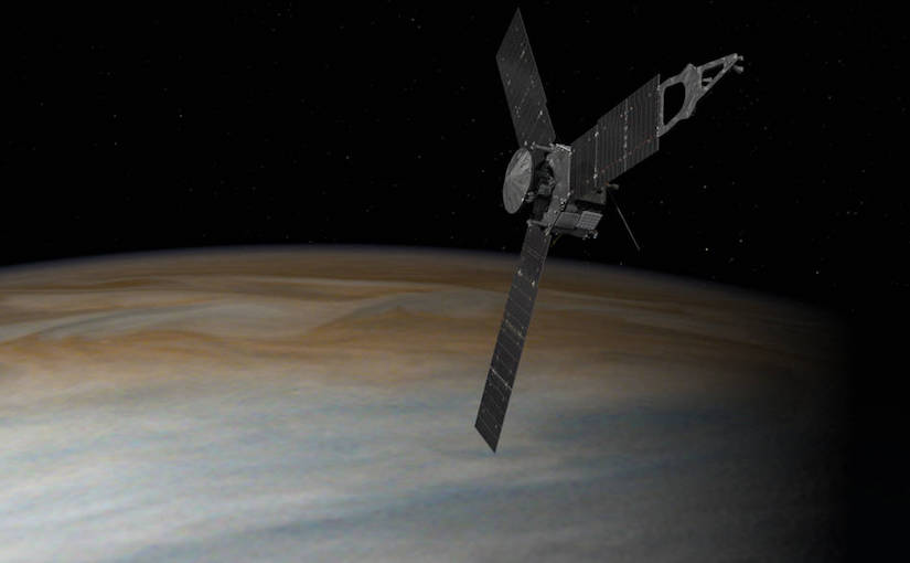 Juno en Jupiter