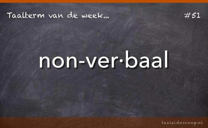TVDW: Non-verbaal