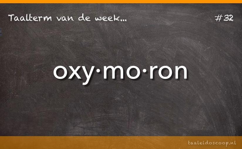 TVDW: Oxymoron