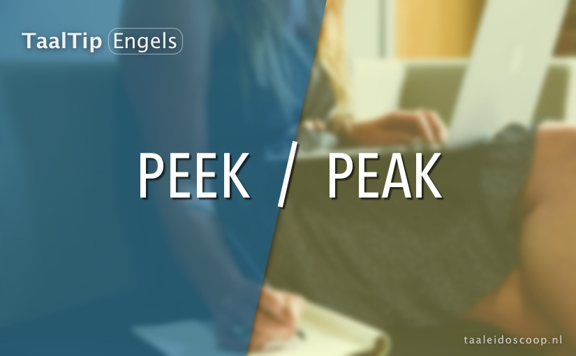 Peek vs. peak