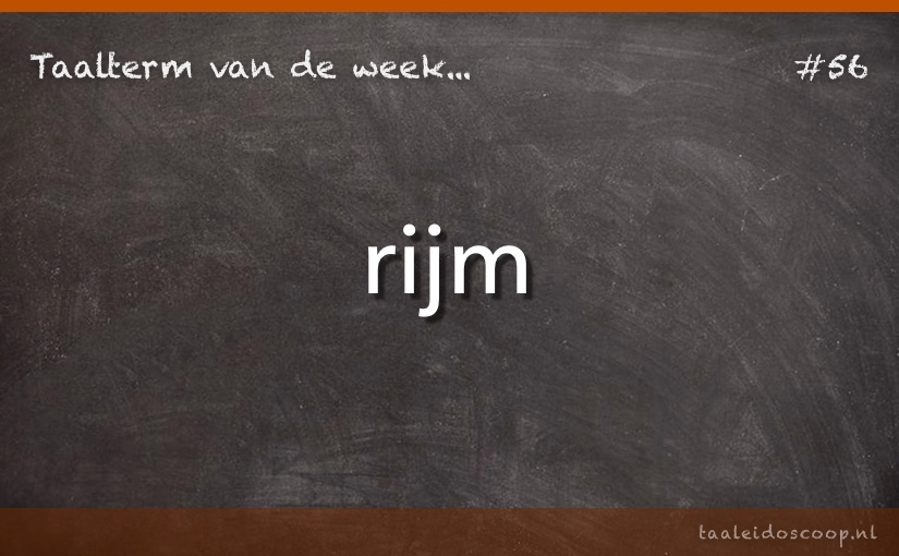 TVDW: Rijm