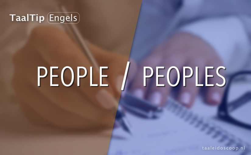 People vs. peoples