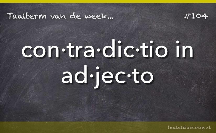 TVDW: Contradictio in adjecto