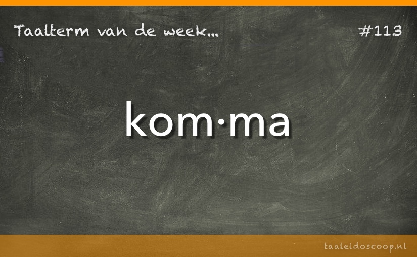 TVDW: Komma
