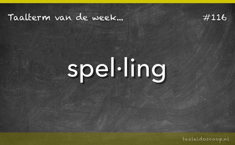 TVDW: Spelling