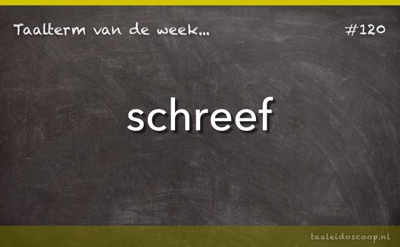 TVDW: Schreef