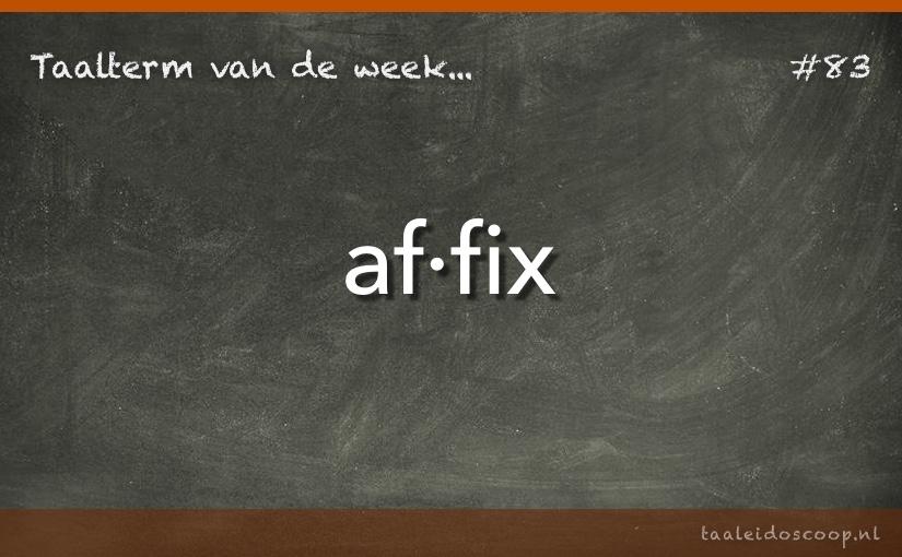 TVDW: Affix