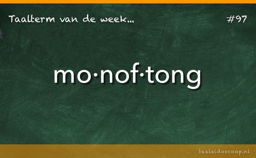TVDW: Monoftong