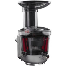 Stock up on fresh fruits and vegetables for everyday use of the Juicer and Sauce Attachment that attaches directly to your KitchenAid® Stand Mixer. With 3 pulp screens the options are endless for low pulp or high pulp juices, sauces and jams.