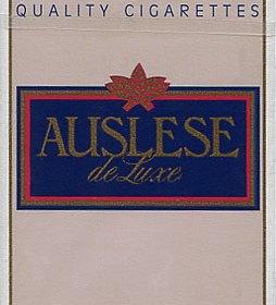 Auslese Zigaretten aus dem Jahr 1990