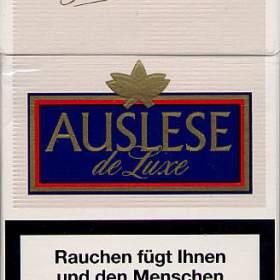Auslese Zigaretten aus dem Jahr 2009