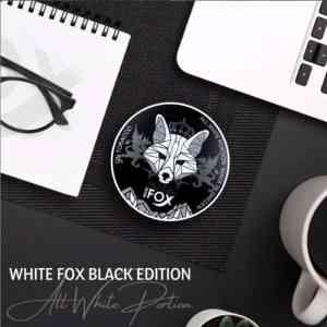 White-Fox-Black