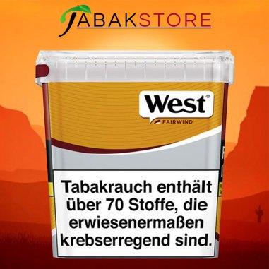 west-yellow-310g-volumentabak-eimer