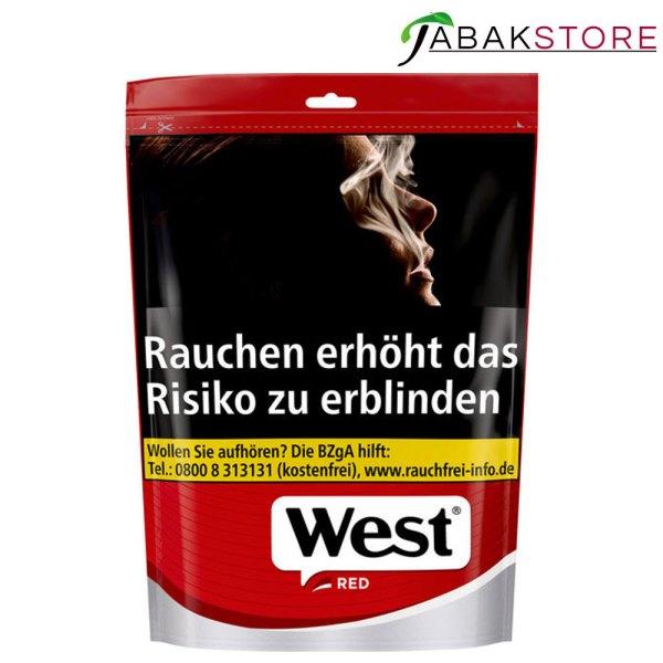 west-red-volumentabak-134g-beutel