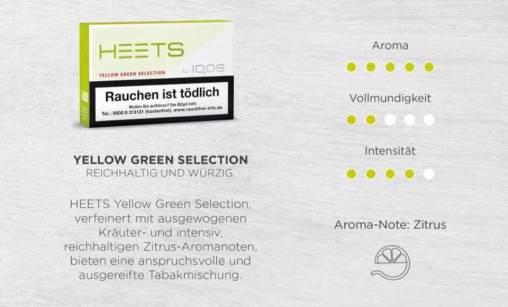Heets Yellow Green