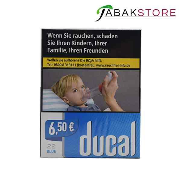 Ducal Blue 6,50€ Zigaretten