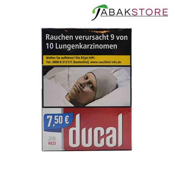 Ducal Red Zigaretten 7,50€