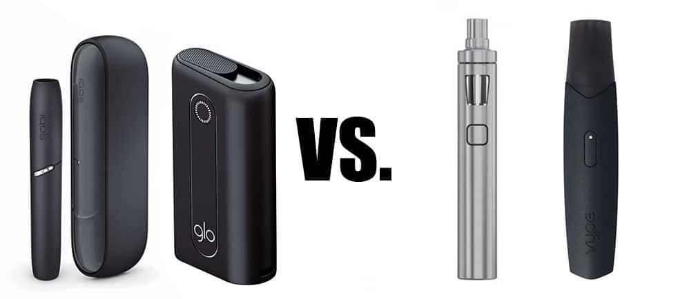Tabakerhitzer vs E-Zigarette