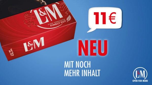 L&M 11€ Neu