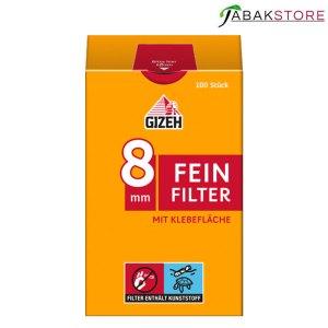 Gizeh Feinfilter 8 mm mit 100 Filtern
